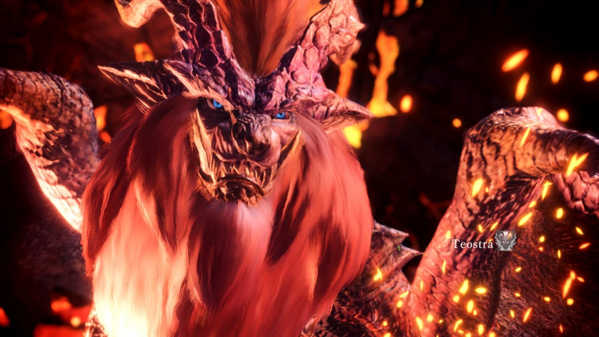 teostra is all about the fire.