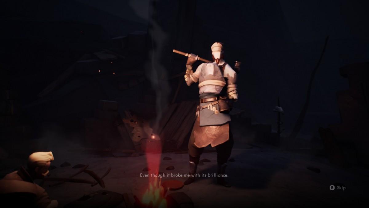 badass blacksmith, but a bit broken.